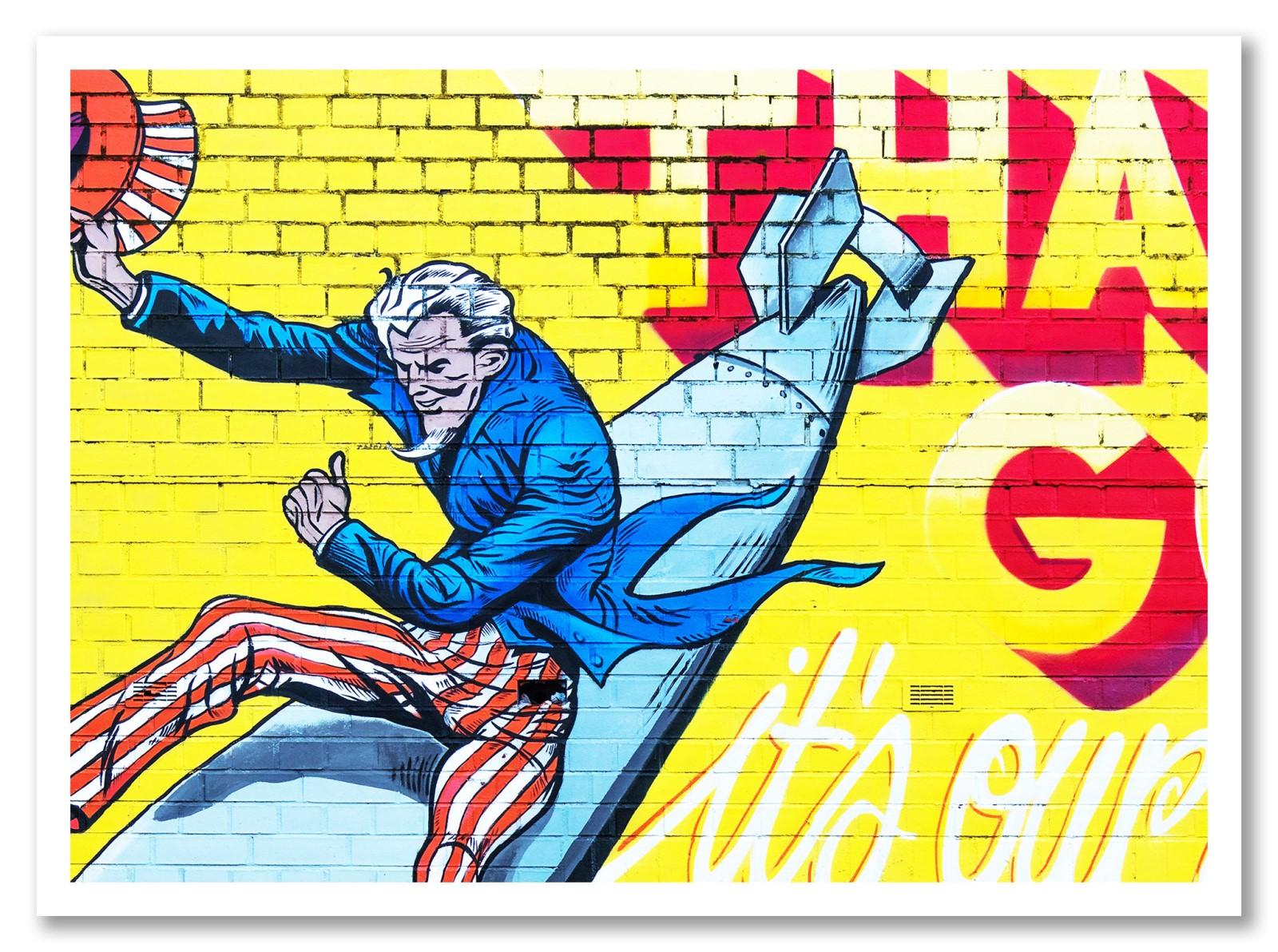 Street Art - Human Bombe