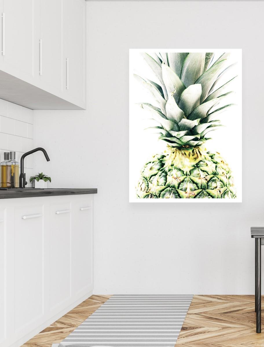 Cuisine - Grande affiche sur un mur blanc