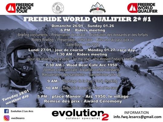 Freeride world qualifier 2*