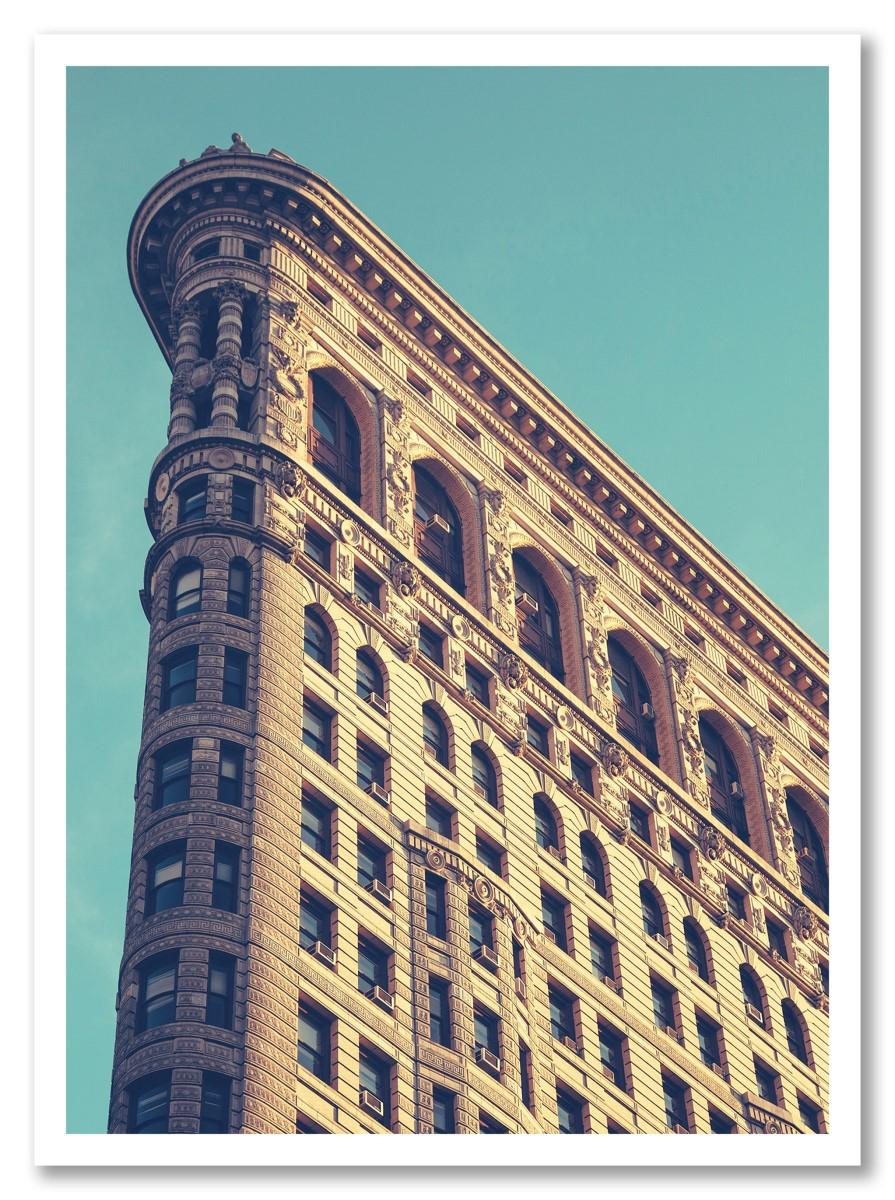 Architecture - Flatiron Building Bleu