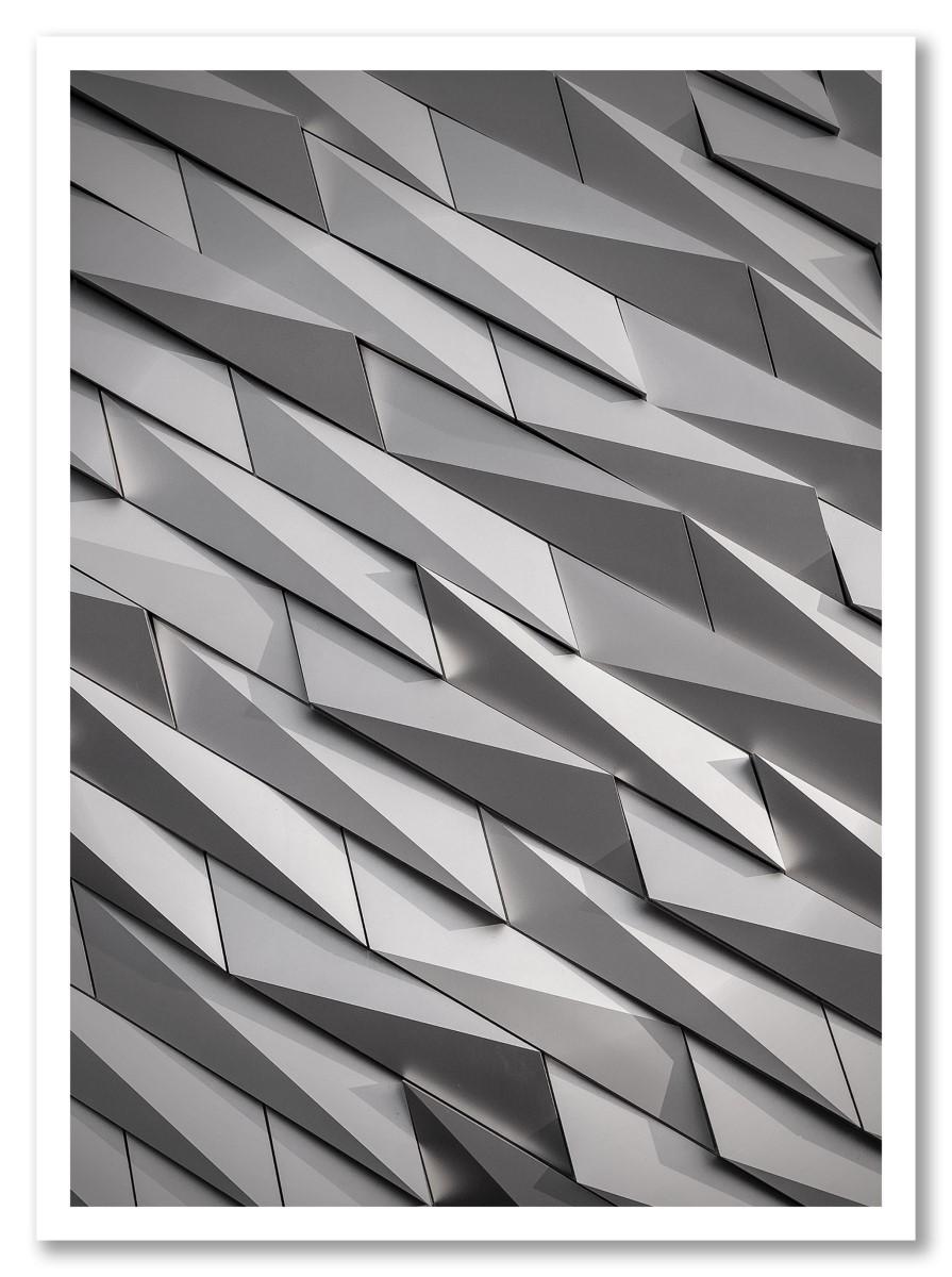 Abstrait - Immeuble blanc
