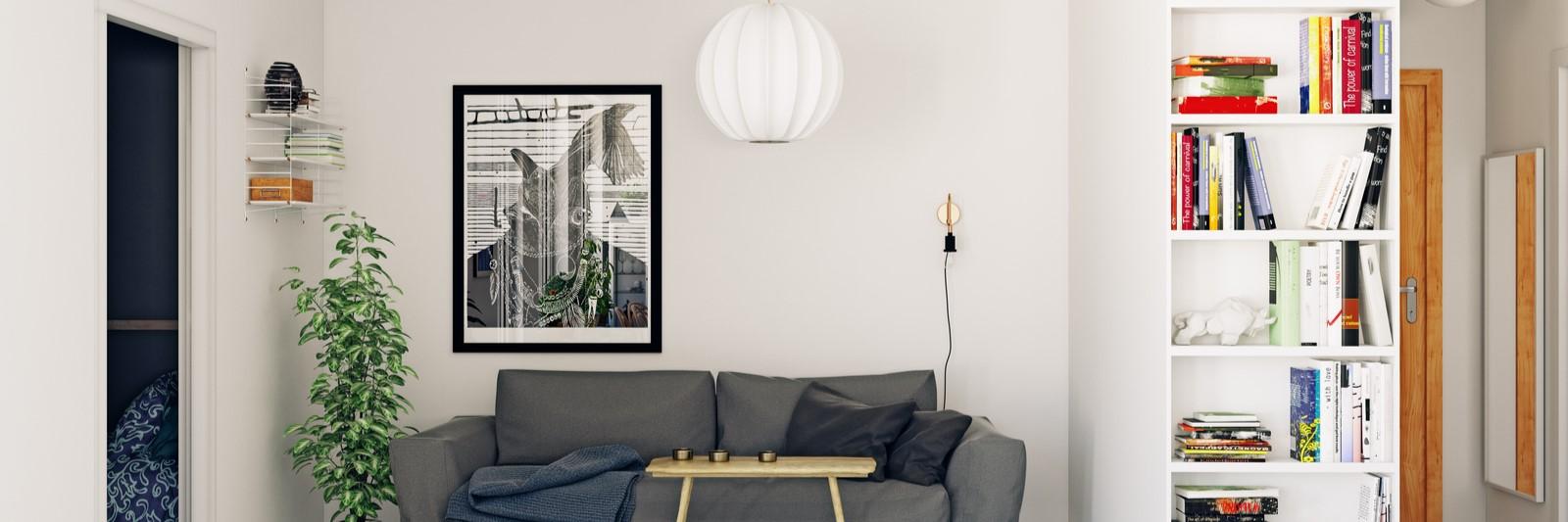 Deco Cadre Photo Mur comment disposer ses cadre deco sur son mur ? - ekivoke art