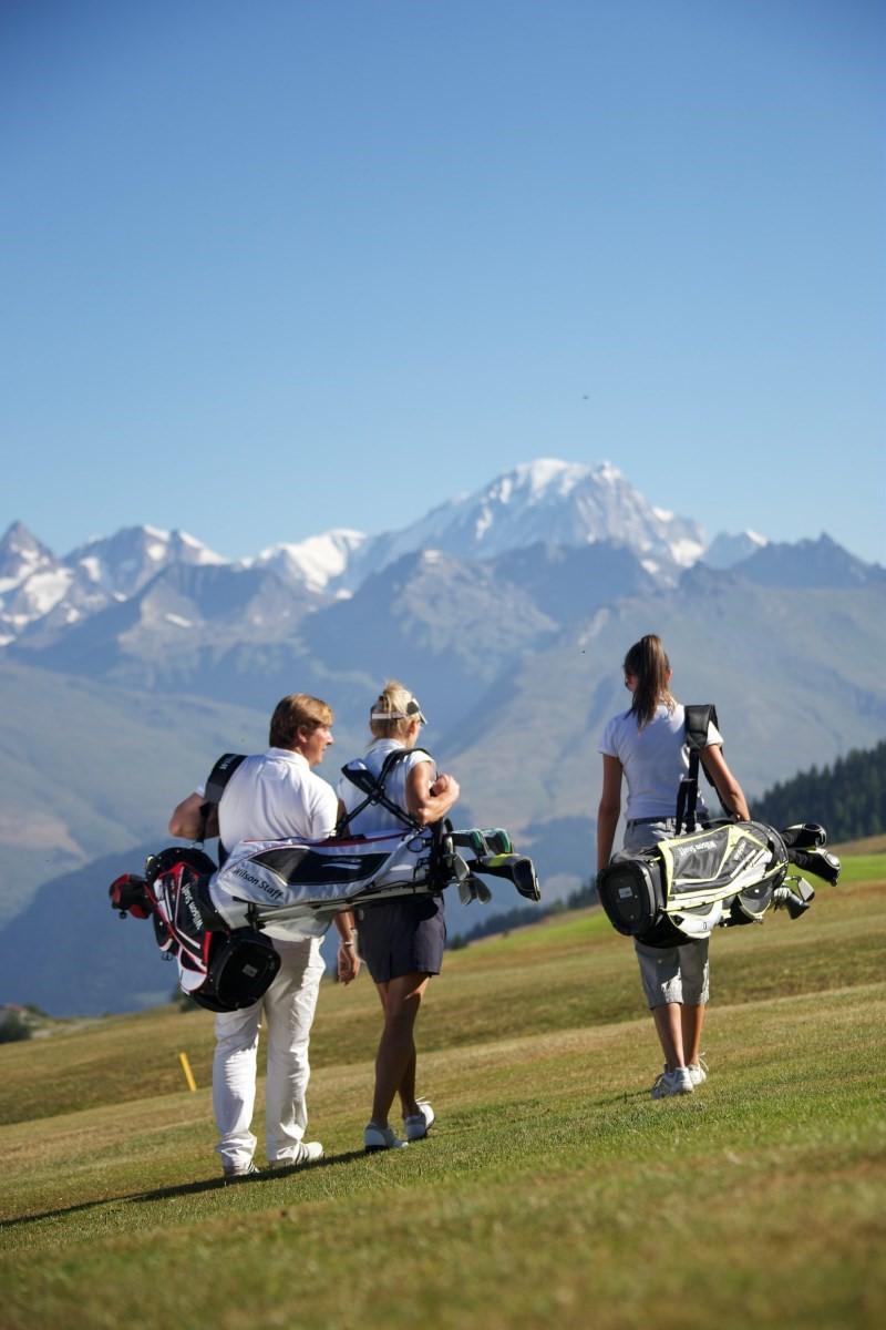 Golf in Les Arcs