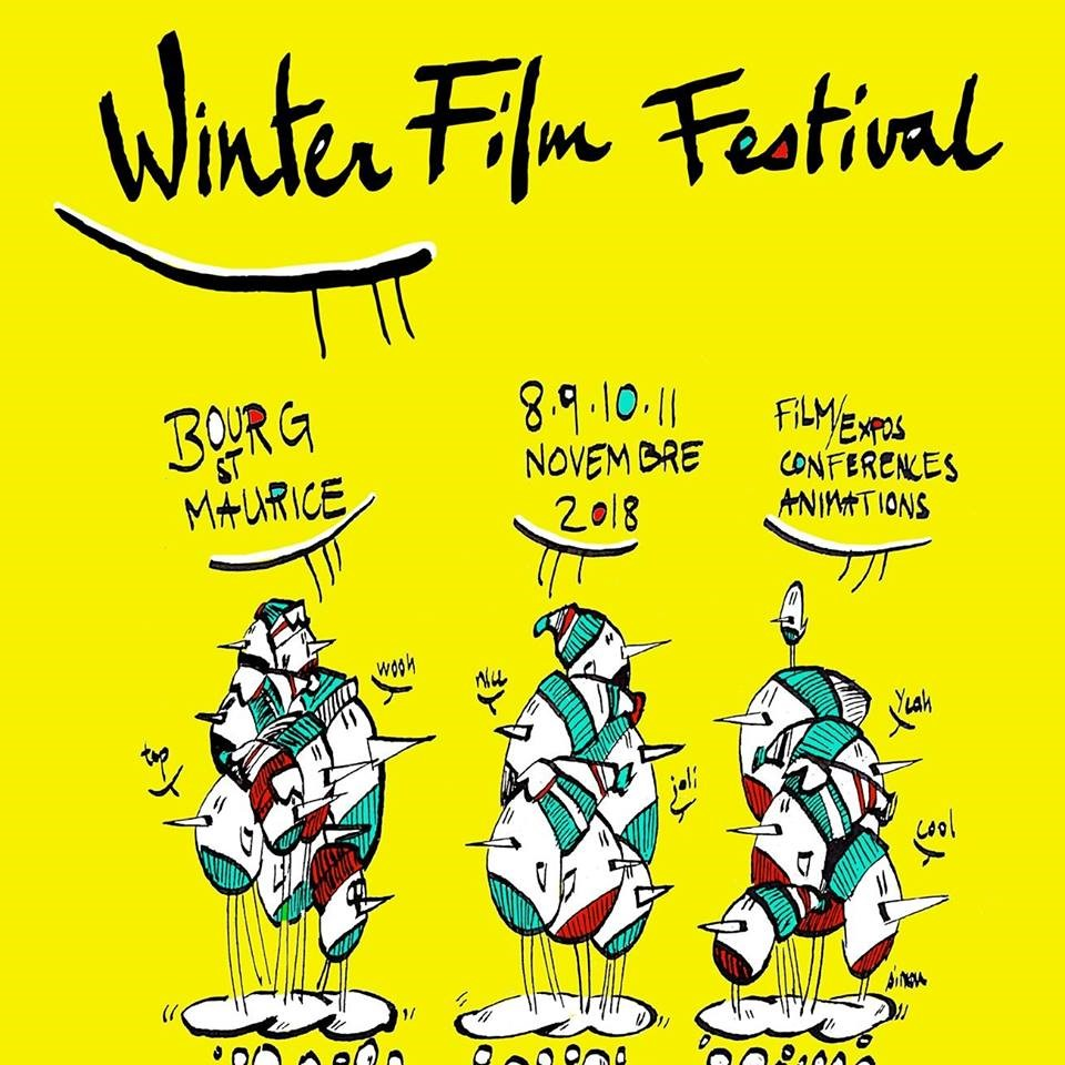 Winter Film Festival with Arc 1950 Le Village, Savoie, France