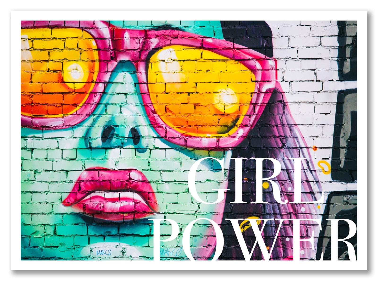 Street Art - Girl Power