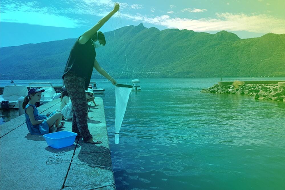 ©Aqualis - Pêcher du plancton