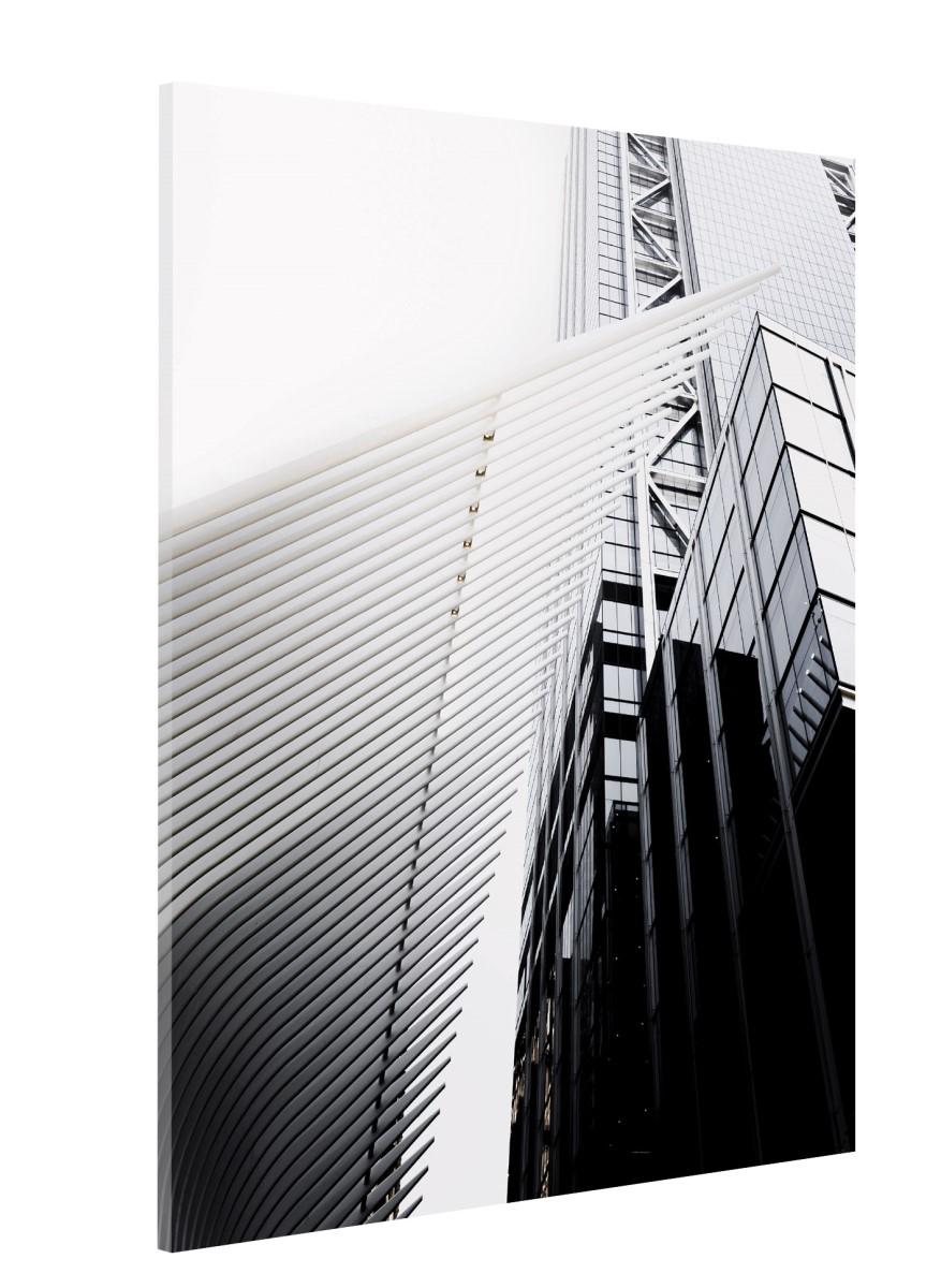 Architecture - Gratte ciel en noir et blanc