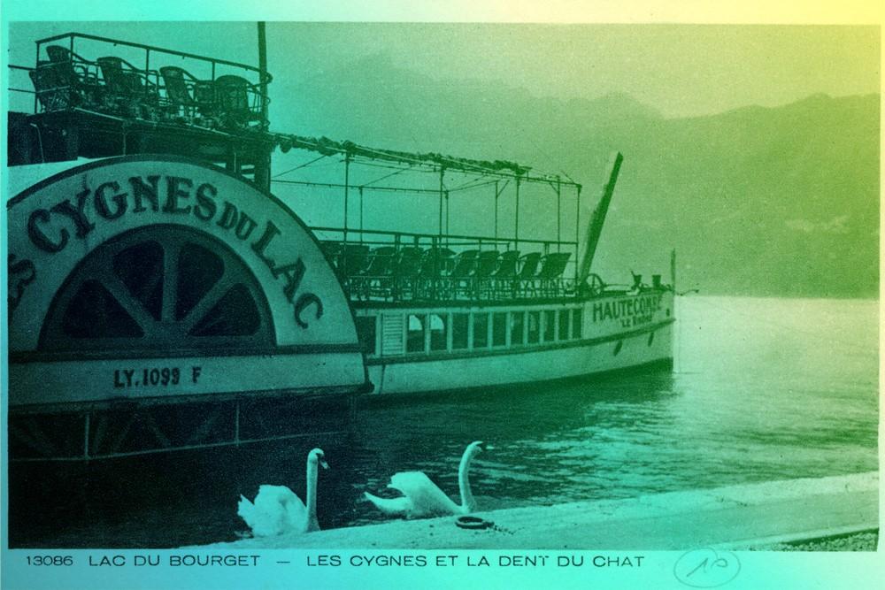 archives d'Aix les Bains - les cygnes du lac : à vapeur ...