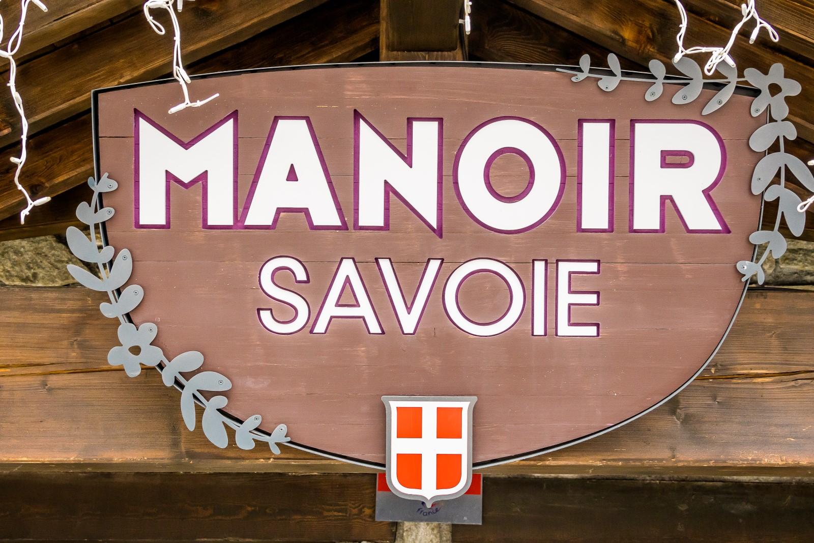 Manoir Savoie in summer