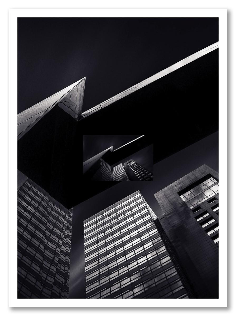 Architecture - Immeuble noir