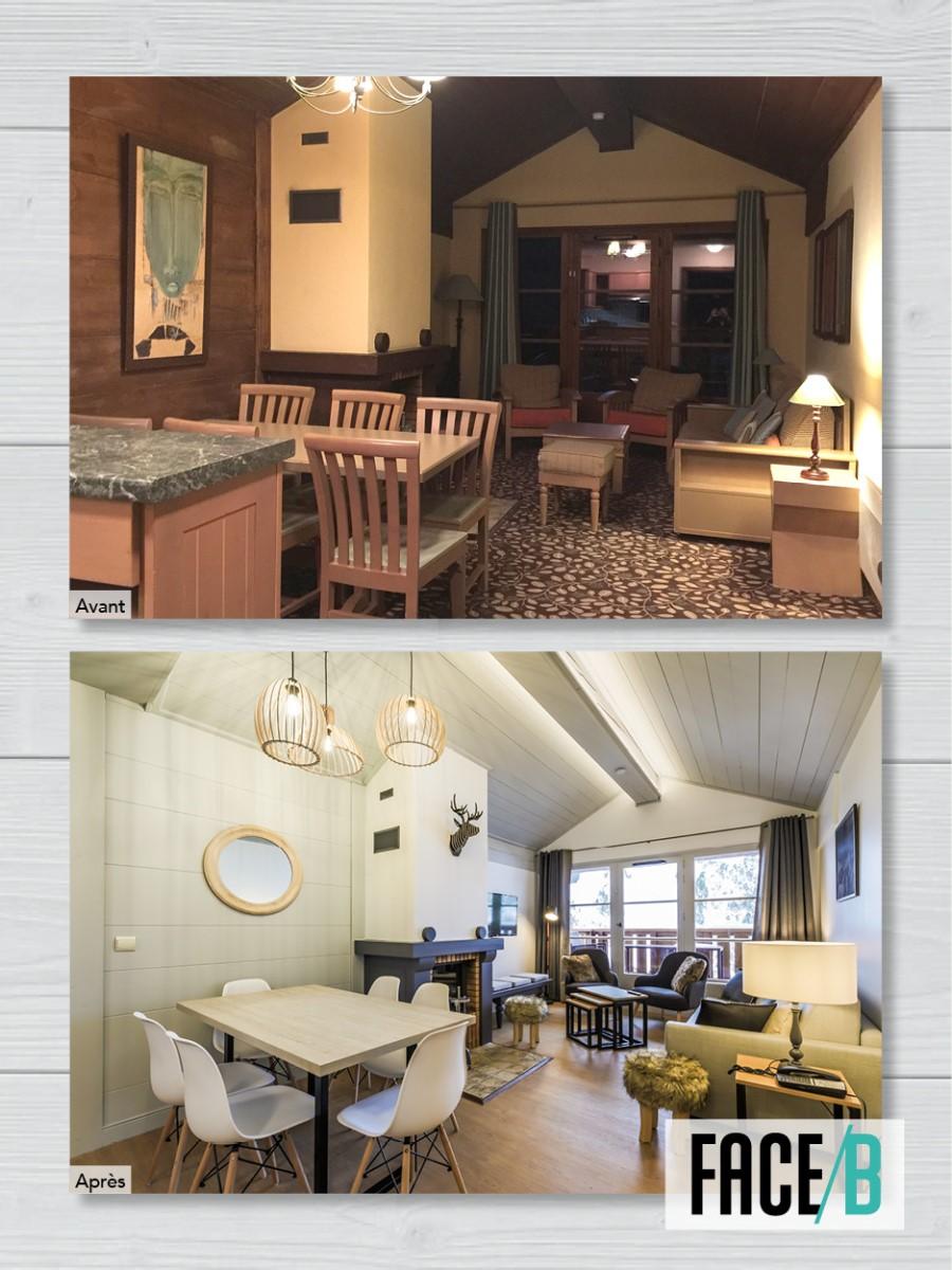 Arc 1950 conciergerie appartement montagne vacances rénovation décoration
