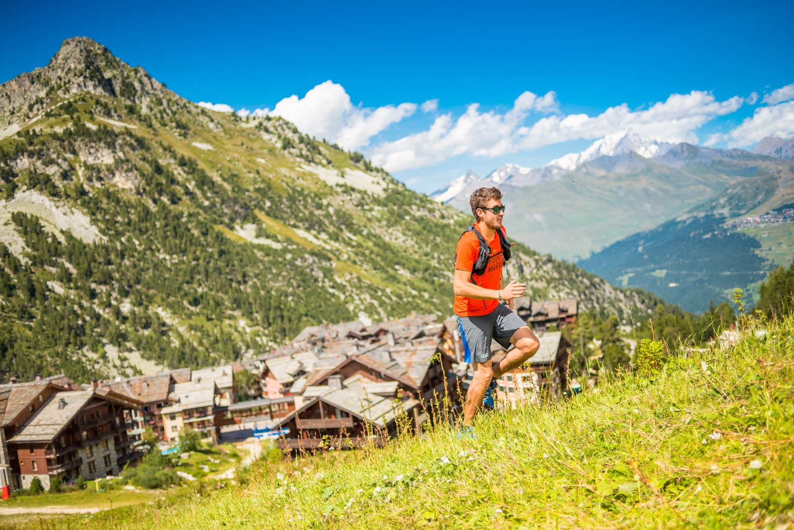 hiking in Les Arcs - french alps