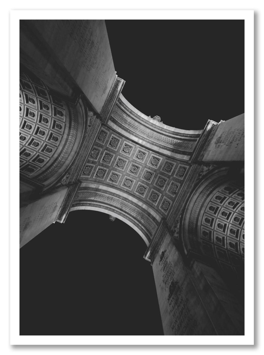 Architecture - Bâtiment Historique Noir