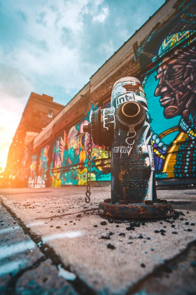 Street Art - Incendie