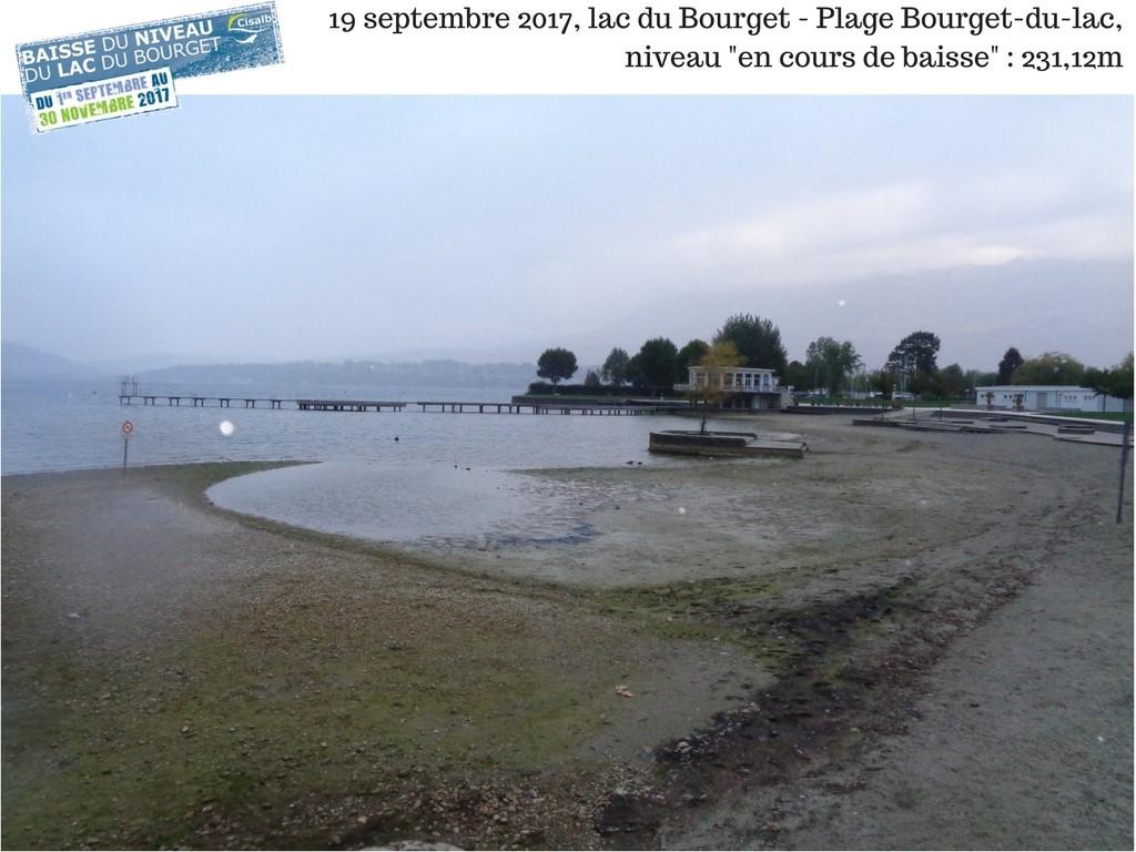 ©Cisalb - Plage du Bourget-du-Lac 19.09.2017