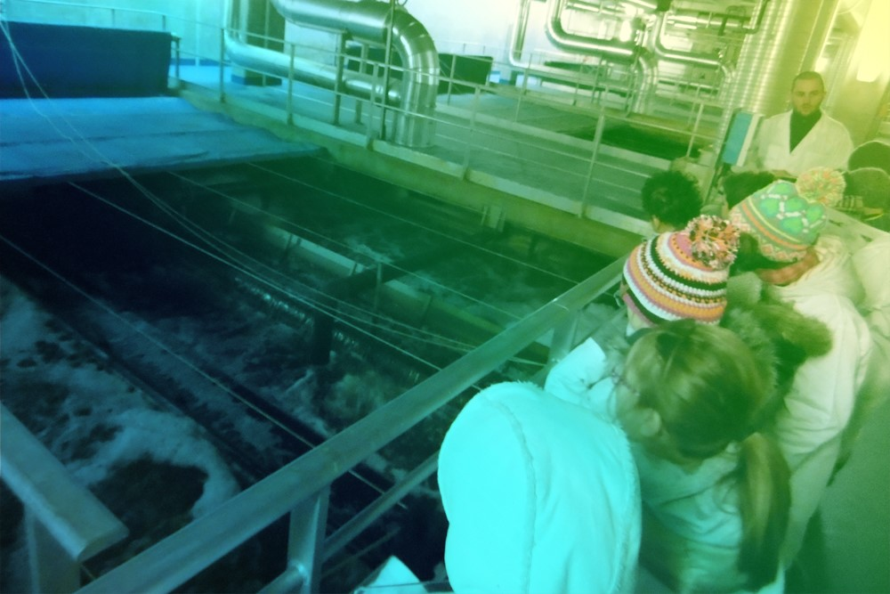 cisalb - Visite de l'usine de Grand Chambéry