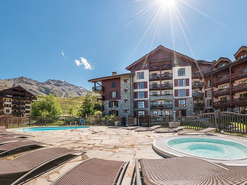 Résidence hôtelière 5 étoiles de la station de ski Arc 1950