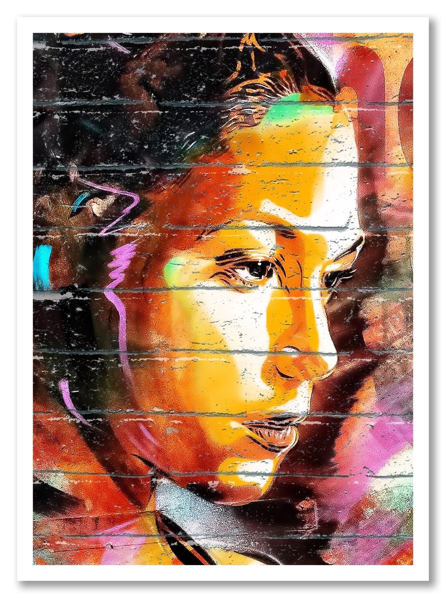 Street Art - Determination