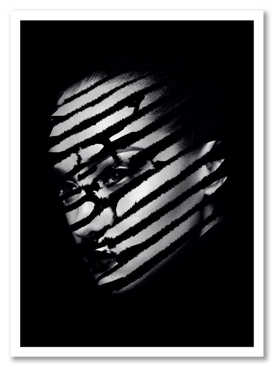 Portrait - Femme Rayures