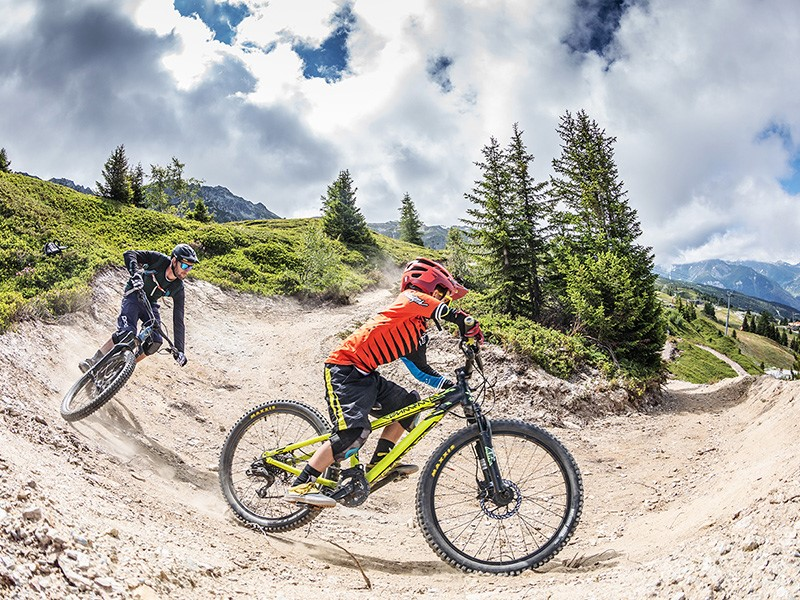 See summer lift pass rates for the Les Arcs mountain biking area