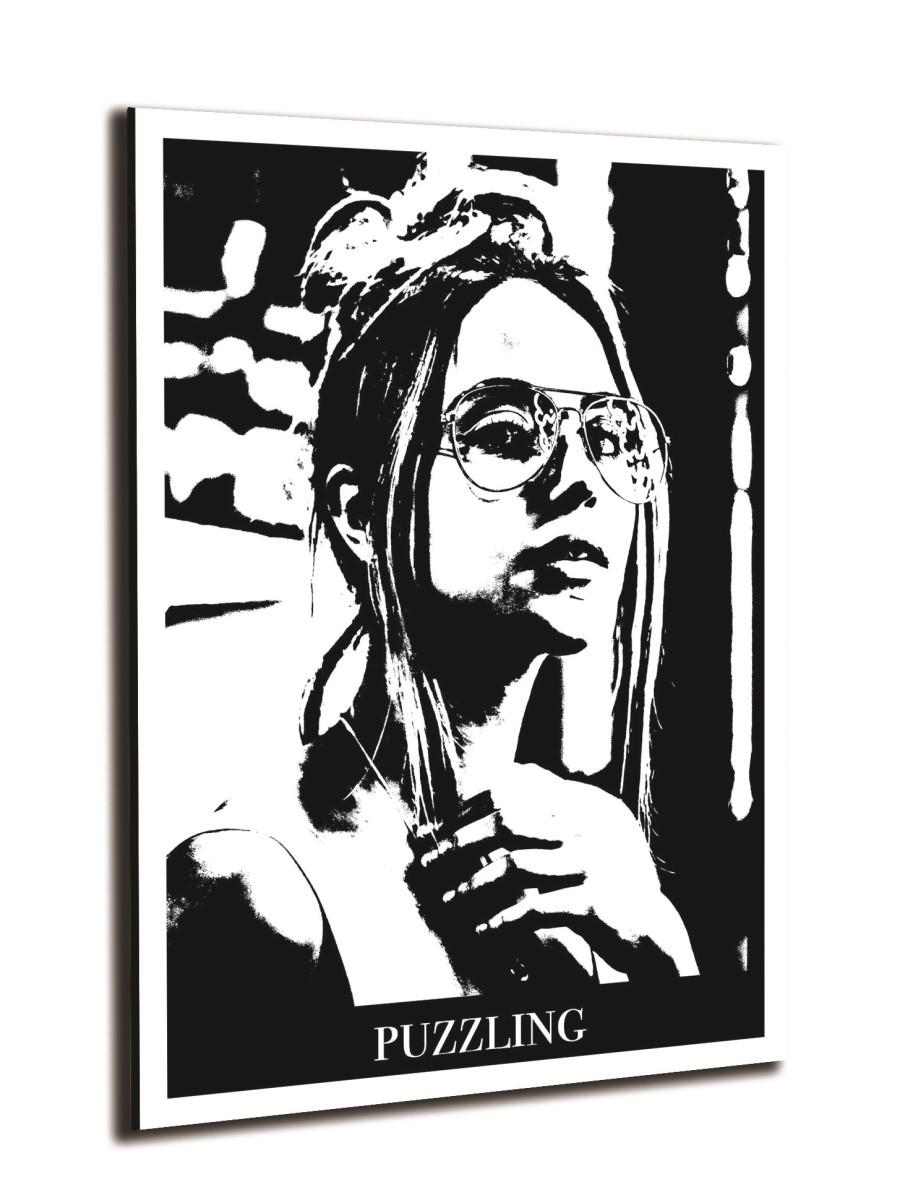 Portrait - Femme Puzzling