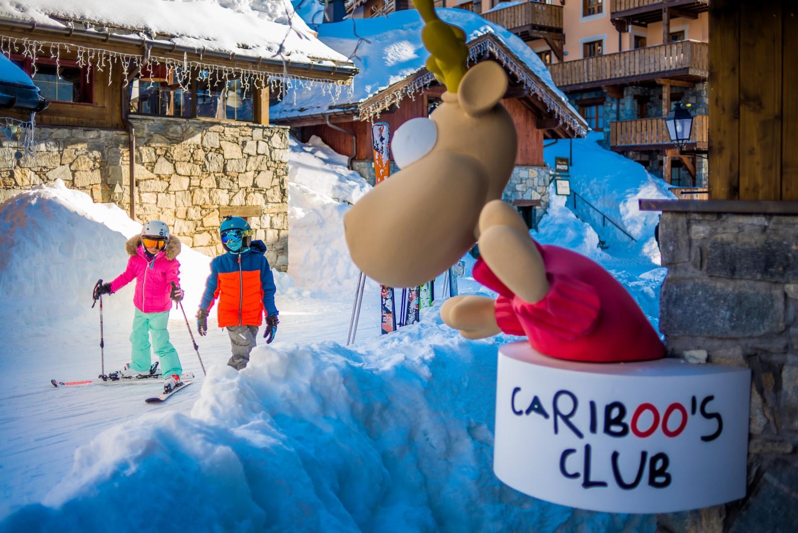 Activités en station de ski pour les enfants