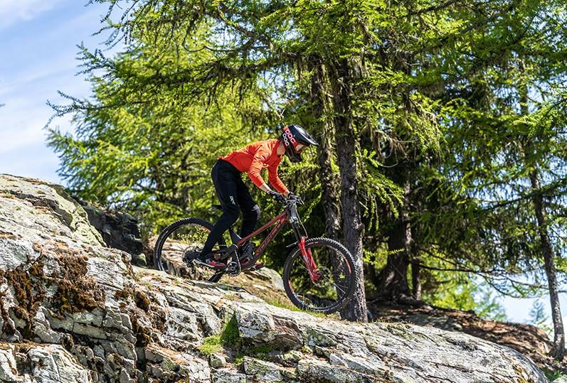 Bike Park arc 1950 VTT vélo forêt sport enduro descente vacances séjour montagne
