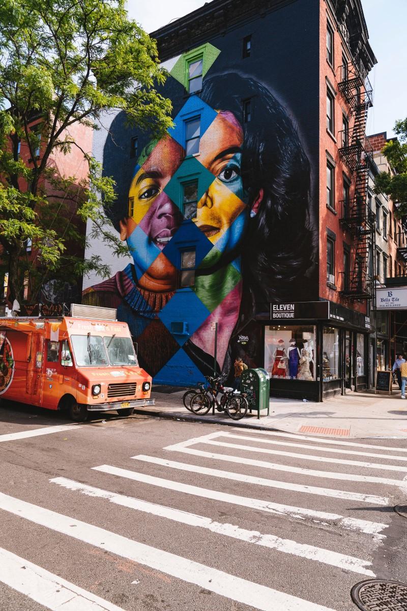 Street Art - Mickeal J