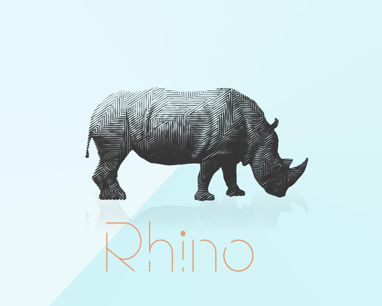 Animaux - Rhino