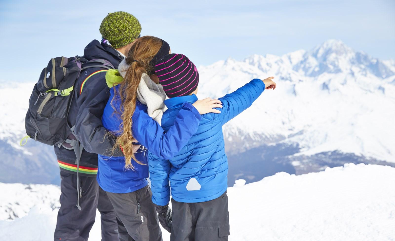 Les Arcs / Paradiski ski area