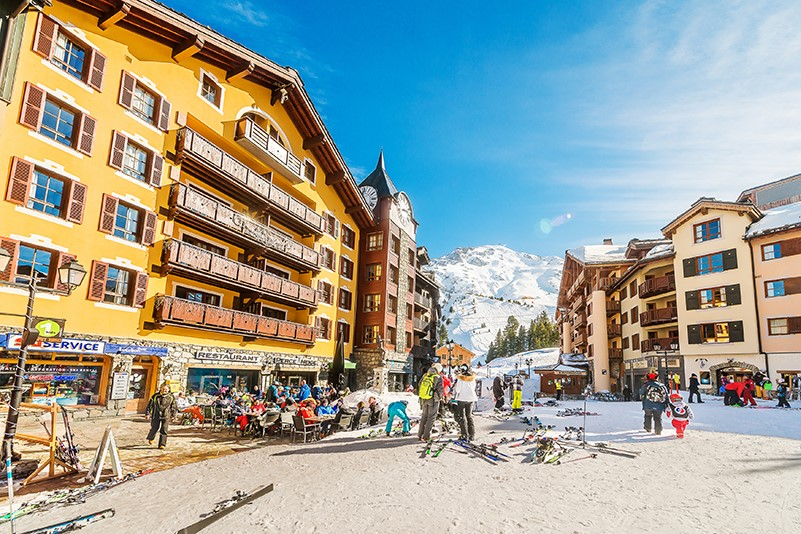 ski-in ski-out residence booking appartement location shopping