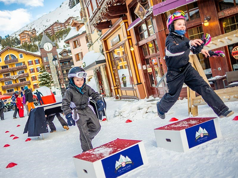 Entertainment for children and adults snow activities luxury stay ski holidays