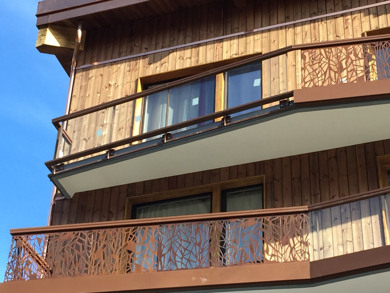 Parements métalliques architecturaux