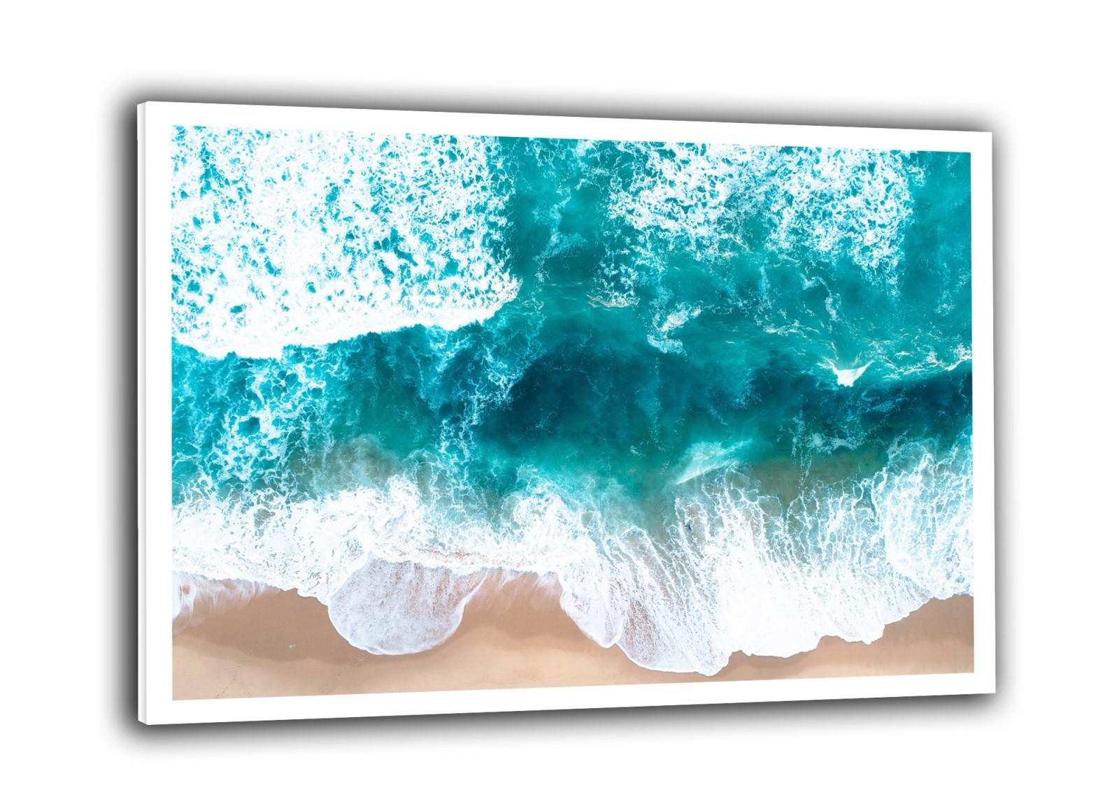 Nature - De bleu et de sable