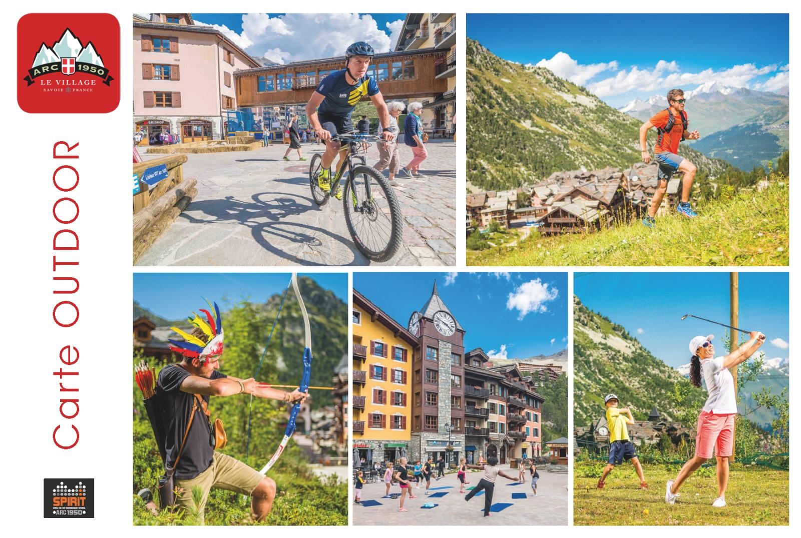 Free outdoor activities mountain luxury stay arc 1950 les arcs