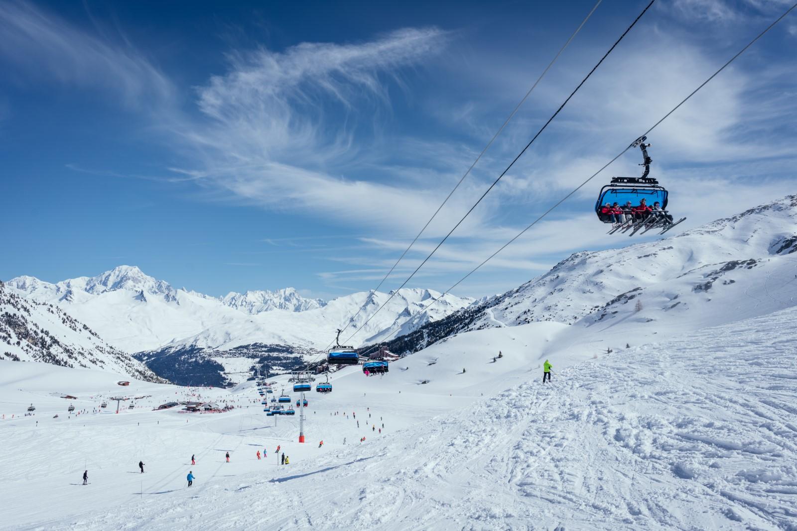 domaine skiable paradiski