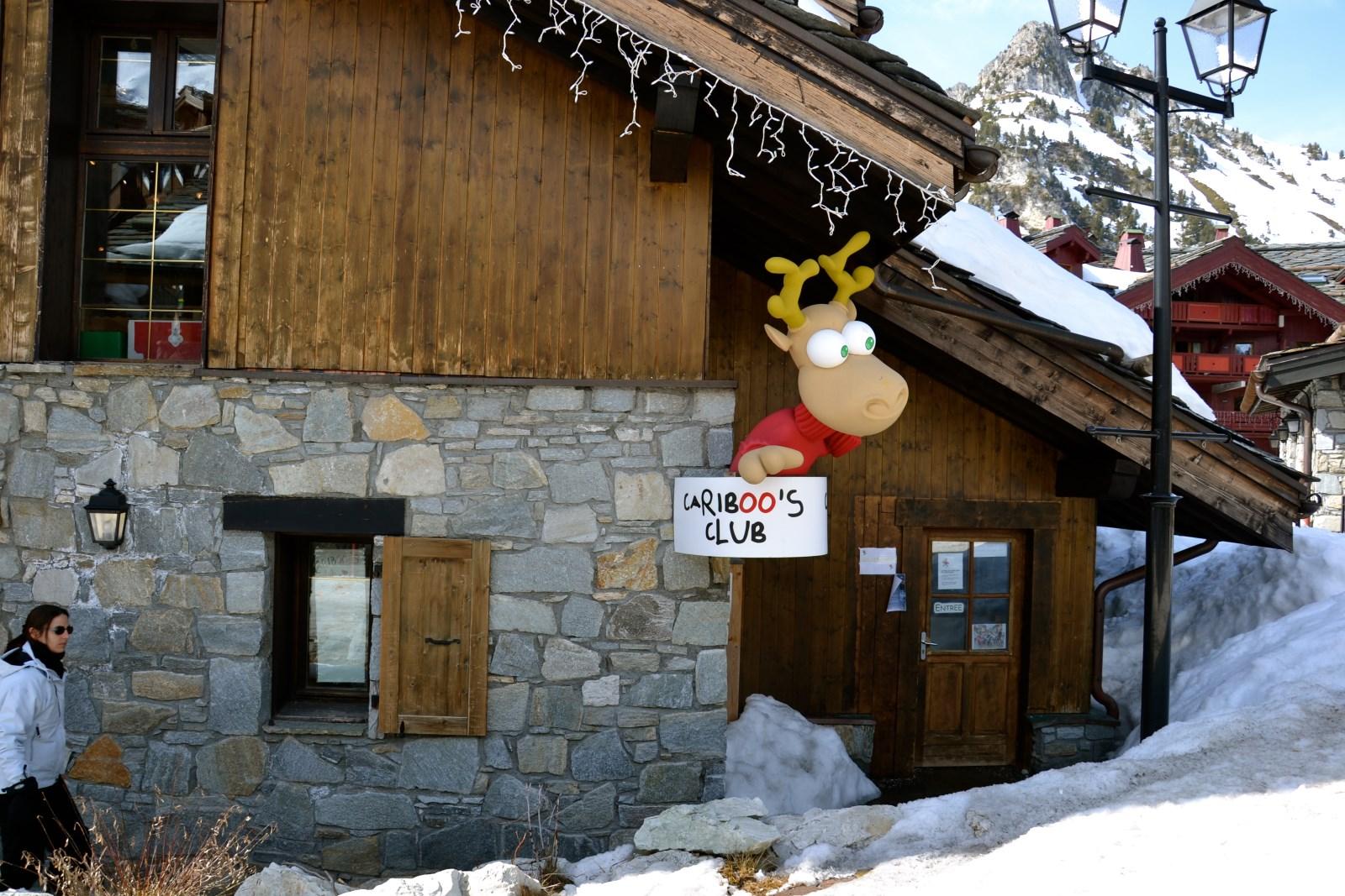 Station de ski Crèche aux Arcs - Le Cariboo - Arc 1950|Station de ski Crèche aux Arcs - Le Cariboo - Arc 1950