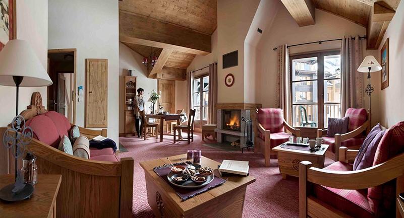 Hébergement 5* location appartement luxe montagne arc 1950 les arcs