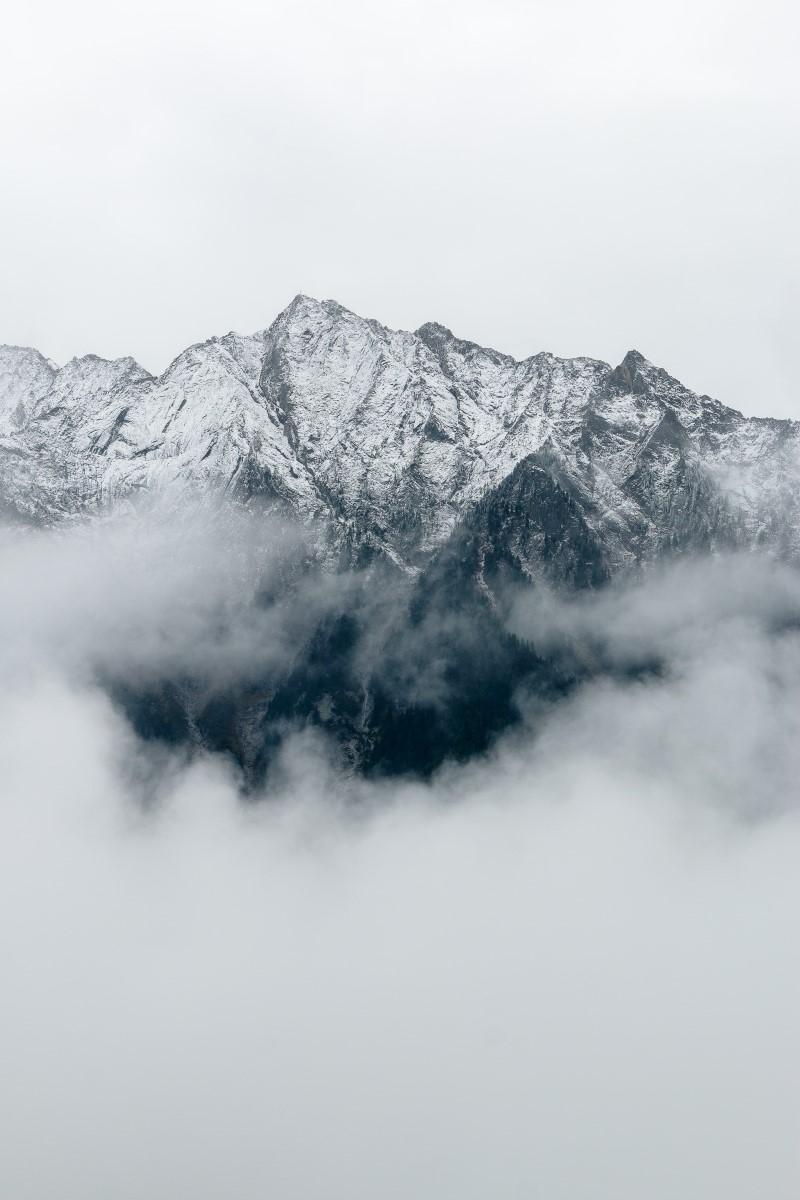 Nature - Montagne B&W