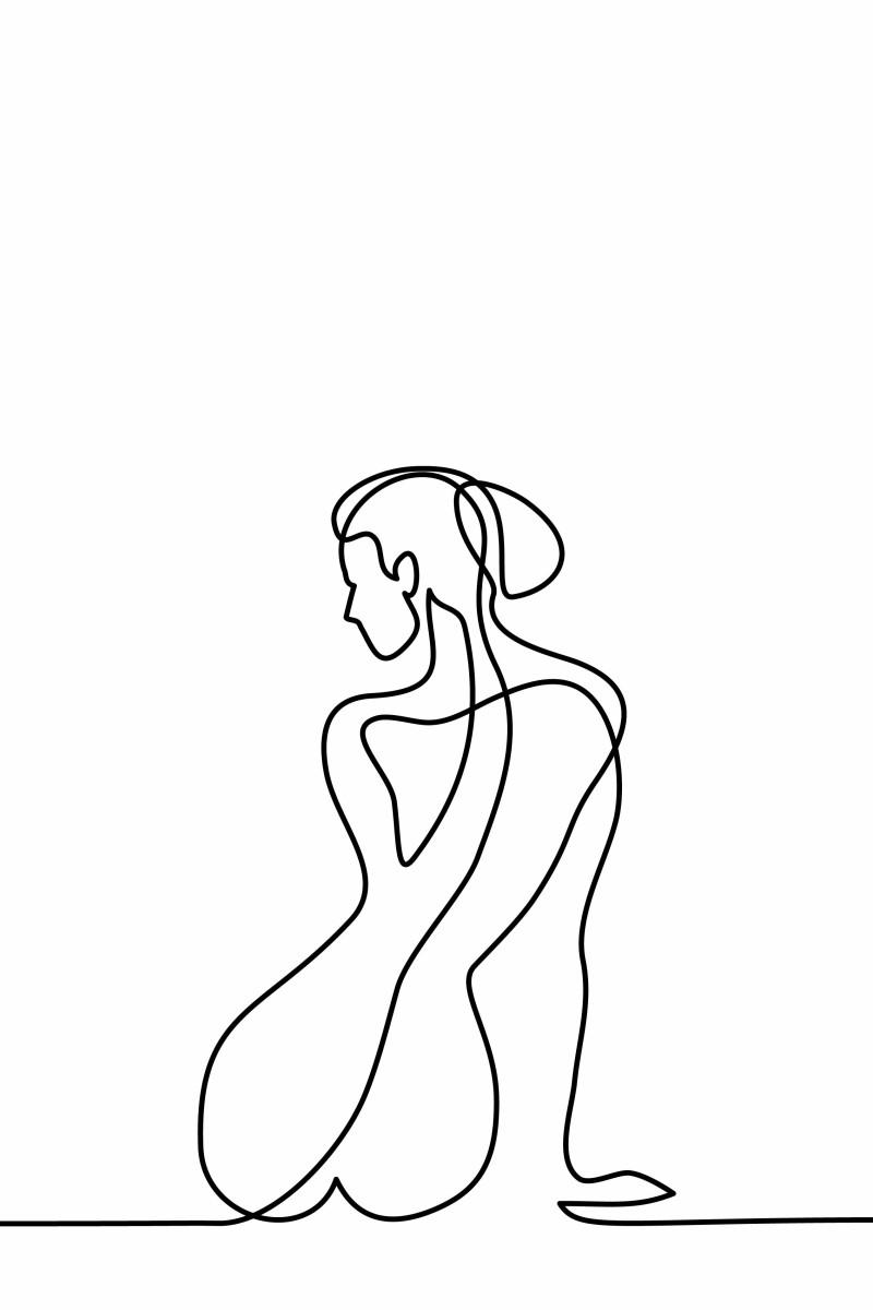 Abstrait - Line Coquelicot