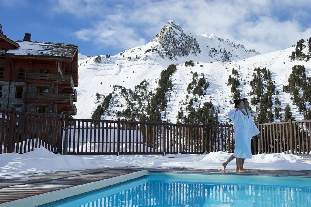 piscines et spas en montagne - Les Arcs