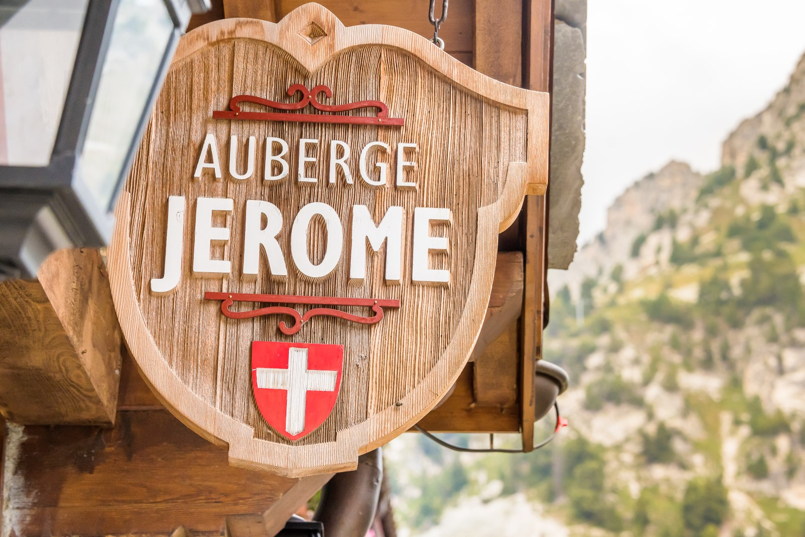 Auberg Jerome in summer
