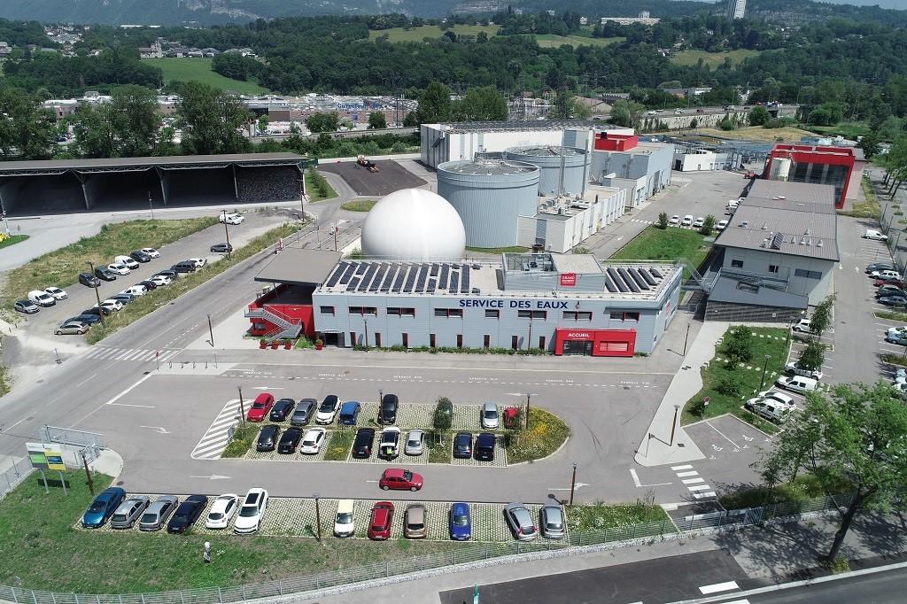 L'usine de dépollution des eaux usées de Grand Chambéry