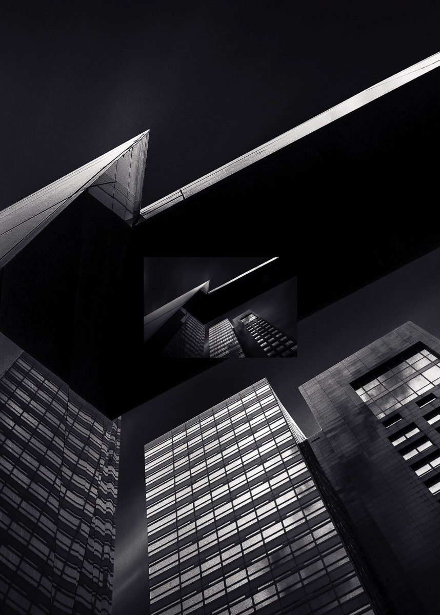 Industriel - Immeuble noir