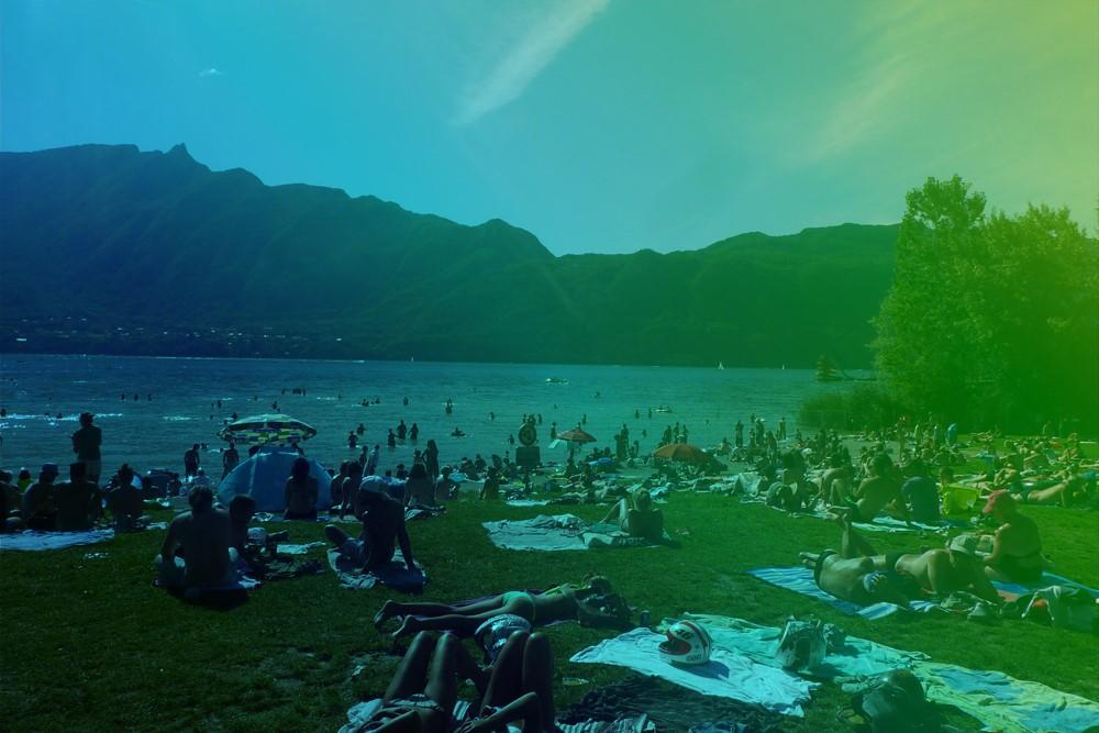aqualis - un des usages du lac