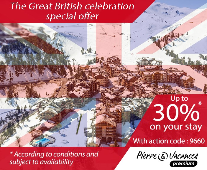 The Great British celebration by Pierre & Vacances Premium