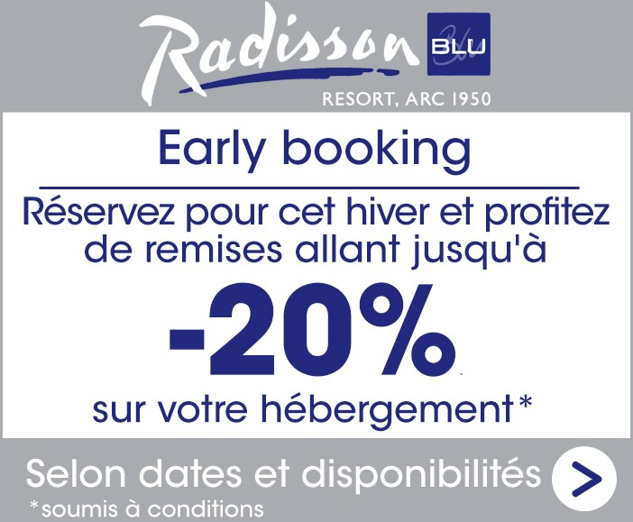 early booking radisson blu