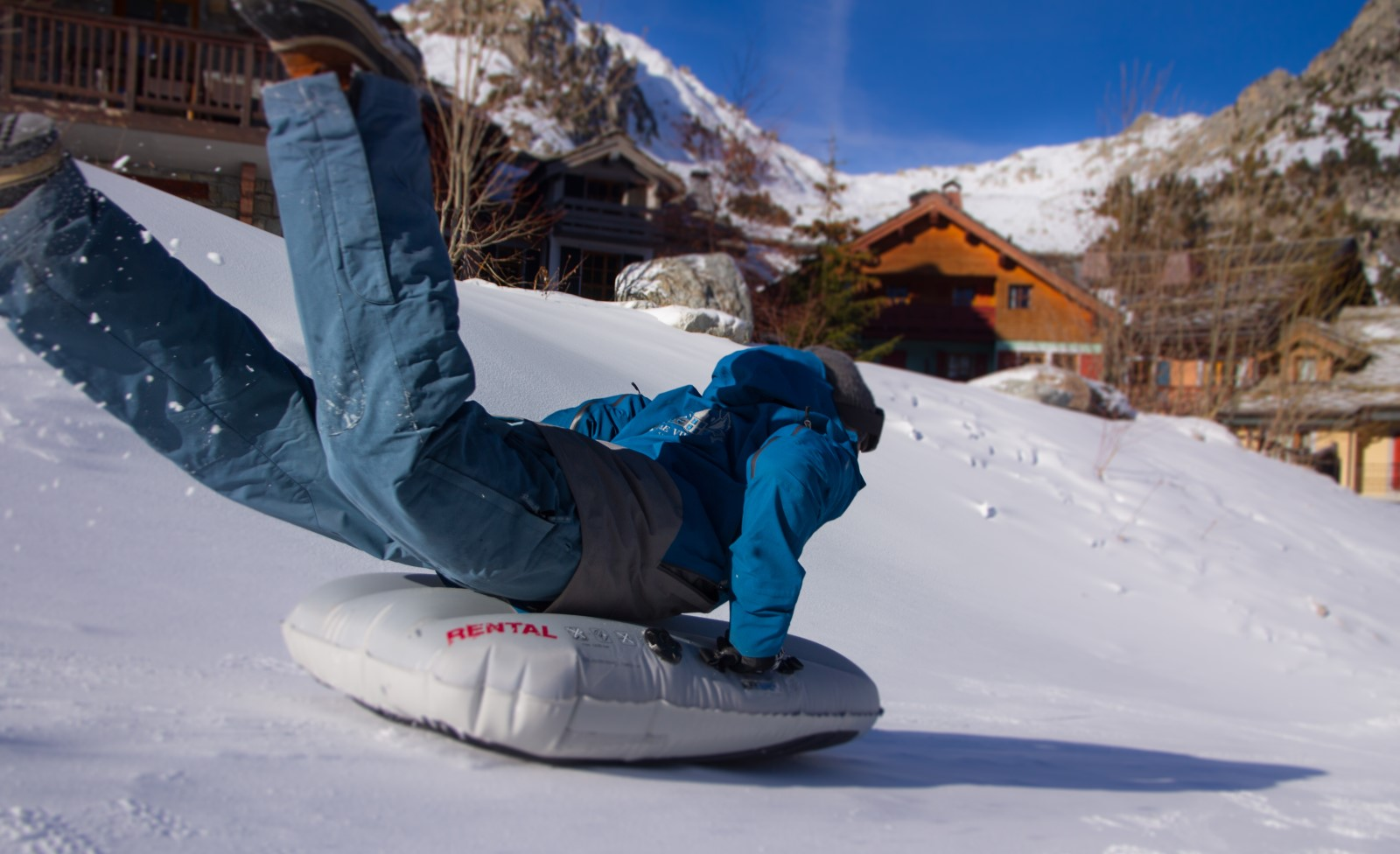 Luges Airboard Party - Make My Day Pierre et Vacances