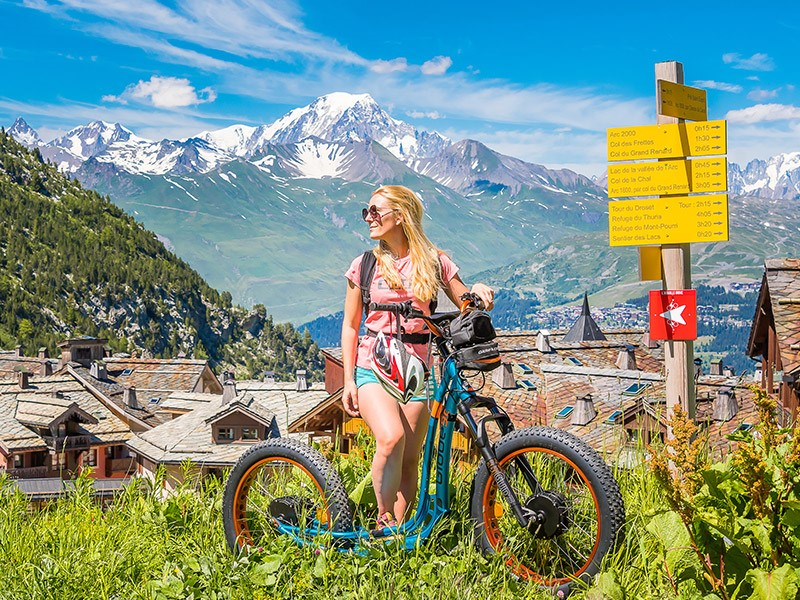 Incredible sports activities in mountain for family and friends