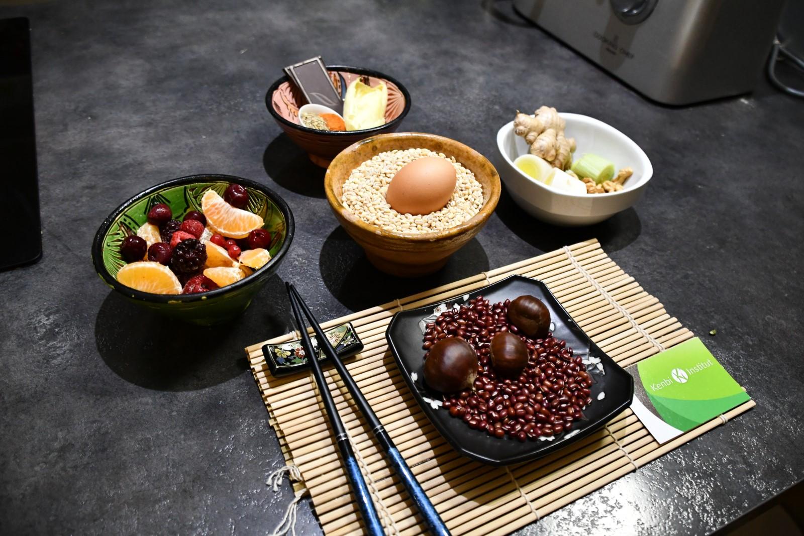 """Conférence : """"Comment utiliser la diététique chinoise pour une meilleure santé?""""- Gilles Hauchecorne"""